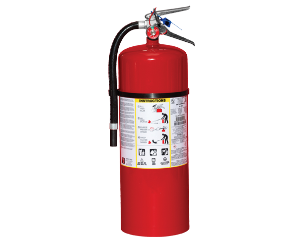 Fire extinguishers Dry chemical