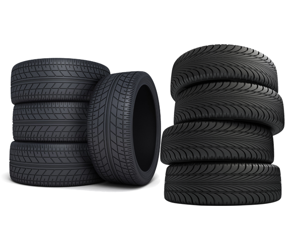 Tires for automotive vehicles