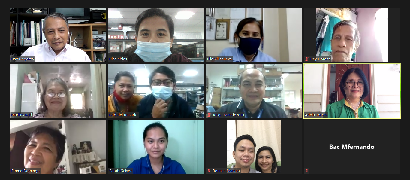 first online meeting BPS TC21