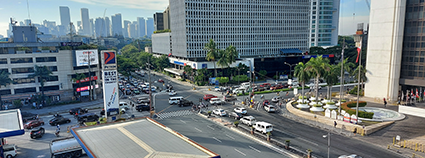 road makati ave buendia overlooking thumb